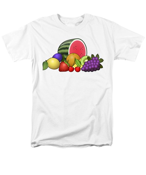 Fruits Heap Men's T-Shirt  (Regular Fit) by Miroslav Nemecek