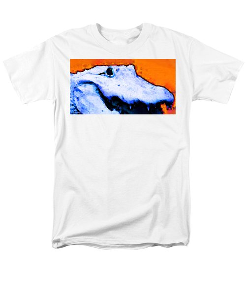 Gator Art - Swampy Men's T-Shirt  (Regular Fit) by Sharon Cummings