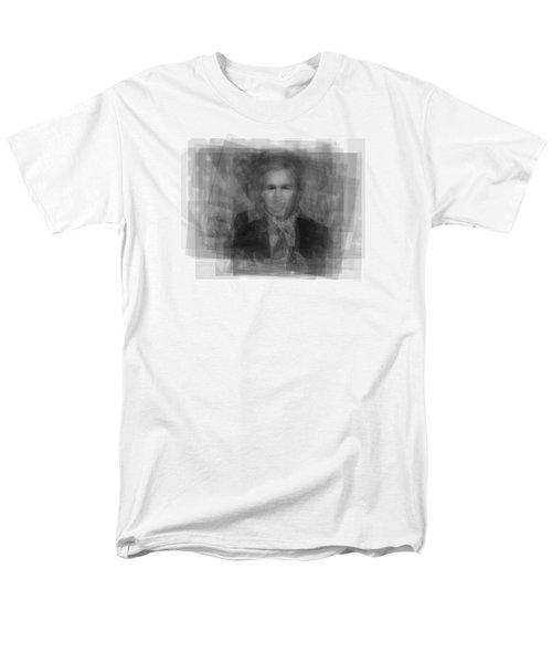George W. Bush Men's T-Shirt  (Regular Fit) by Steve Socha