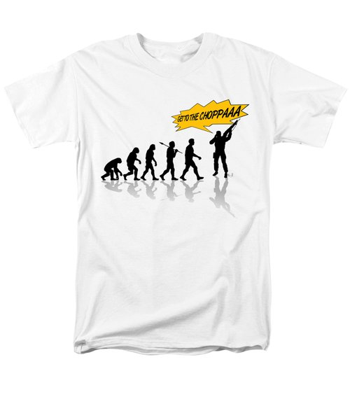 Get To The Choppa Men's T-Shirt  (Regular Fit) by Filippo B