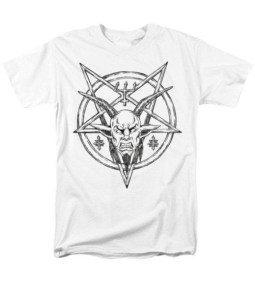 Goatlord Logo Men's T-Shirt  (Regular Fit) by Alaric Barca