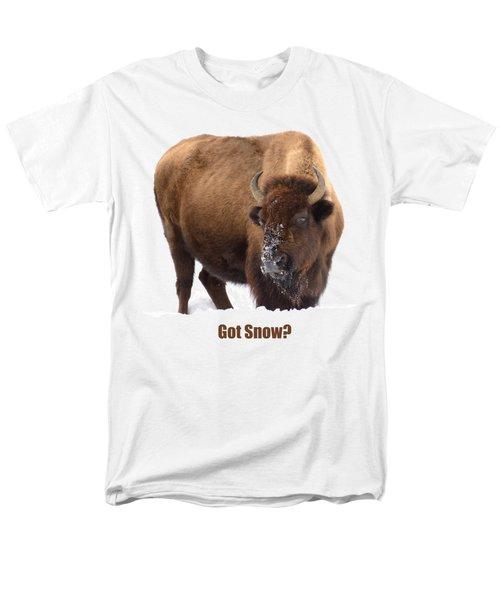 Got Snow? Men's T-Shirt  (Regular Fit) by Greg Norrell