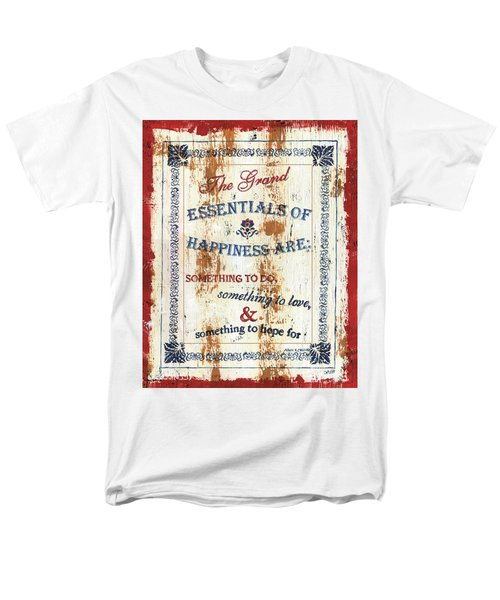 Grand Essentials of Happiness T-Shirt by Debbie DeWitt
