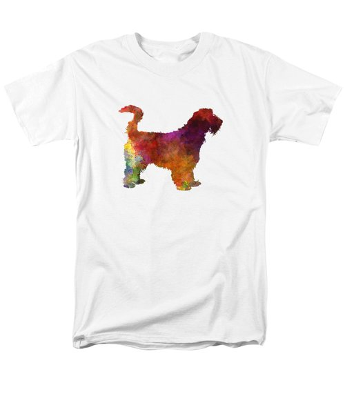 Grand Griffon Vendeen In Watercolor Men's T-Shirt  (Regular Fit) by Pablo Romero