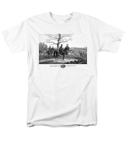 Grant And Lee At Appomattox T-Shirt by War Is Hell Store