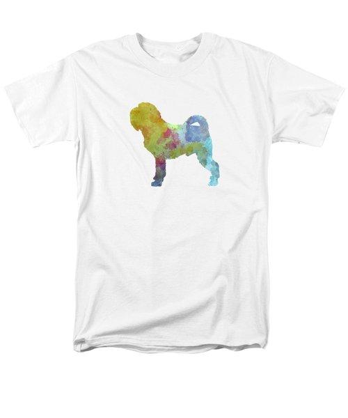 Griffon Belge In Watercolor Men's T-Shirt  (Regular Fit) by Pablo Romero