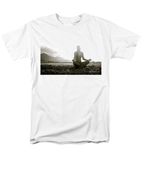 Hanalei Meditation T-Shirt by Kicka Witte - Printscapes