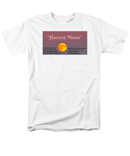 Harvest Moon Song Men's T-Shirt  (Regular Fit) by John Malone