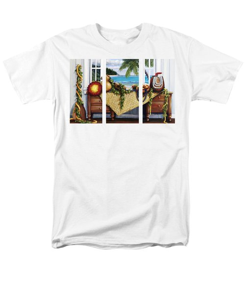Hawaiian Still Life with Haleiwa on My Mind T-Shirt by Sandra Blazel - Printscapes