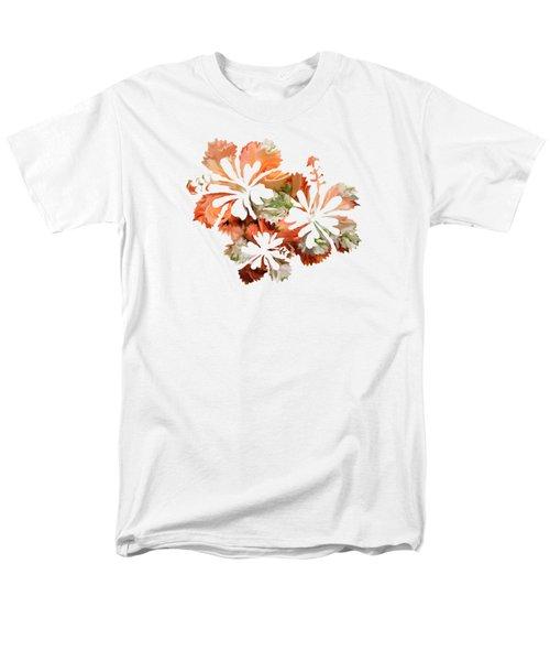 Hibiscus Flowers Men's T-Shirt  (Regular Fit) by Art Spectrum