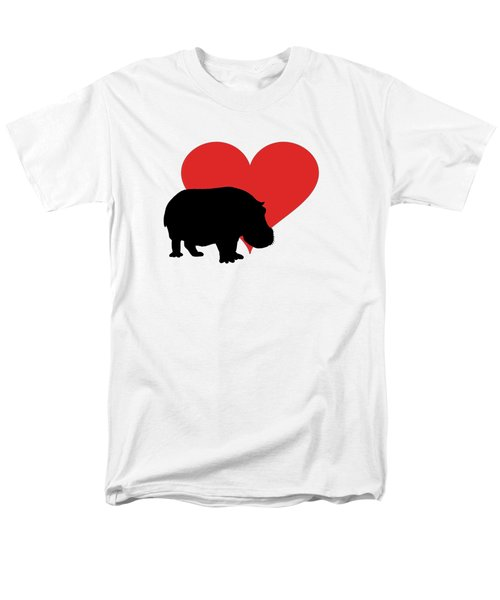 Hippopotamus Men's T-Shirt  (Regular Fit) by Mordax Furittus
