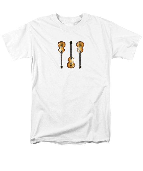 Hofner Violin Bass 62 Men's T-Shirt  (Regular Fit) by Mark Rogan