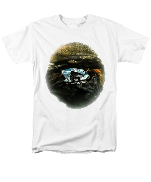 I Seen The Yeti Men's T-Shirt  (Regular Fit) by Gary Keesler