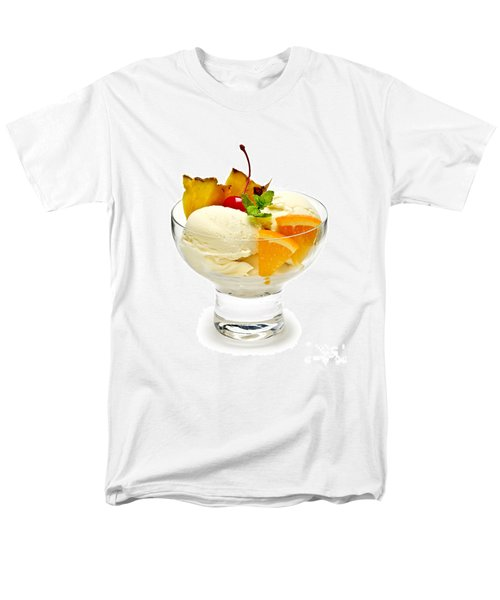 Ice cream with fruit T-Shirt by Elena Elisseeva