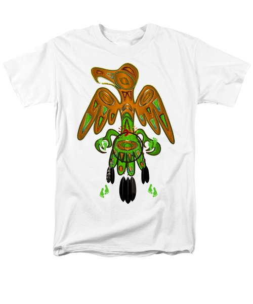 Imprint Native American Men's T-Shirt  (Regular Fit) by Sharon and Renee Lozen
