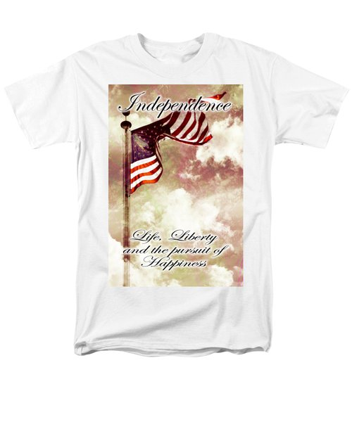 Independence Day USA T-Shirt by Phill Petrovic