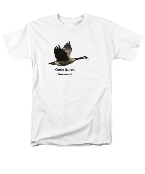 Isolated Canada Goose 2015-1 Men's T-Shirt  (Regular Fit) by Thomas Young