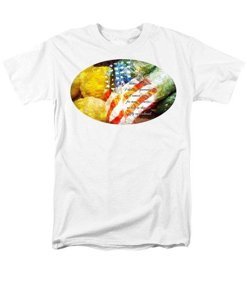 Jefferson's Farm Men's T-Shirt  (Regular Fit) by Anita Faye