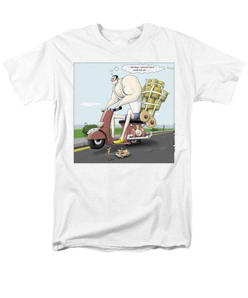 Jim's Shopping Trip Men's T-Shirt  (Regular Fit) by Kris Burton-Shea