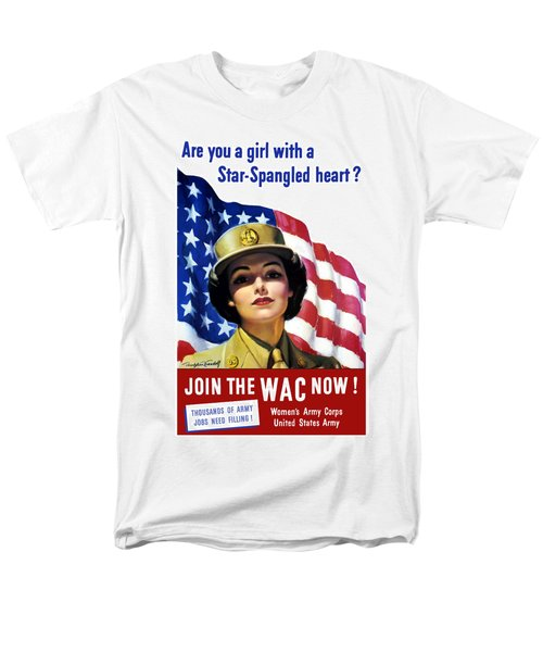 Join The WAC Now T-Shirt by War Is Hell Store