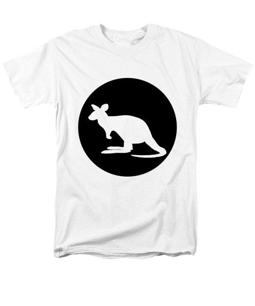 Kangaroo  Men's T-Shirt  (Regular Fit) by Mordax Furittus