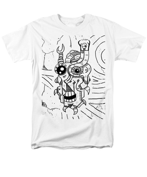 Killer Robot Men's T-Shirt  (Regular Fit) by Erki Schotter