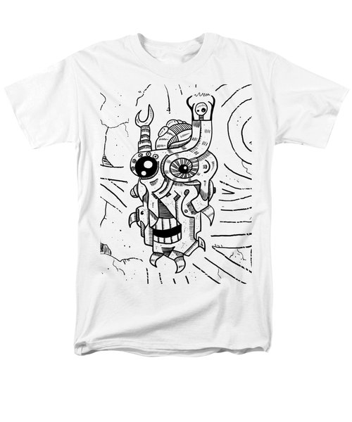 Killer Robot Men's T-Shirt  (Regular Fit) by Sotuland Art