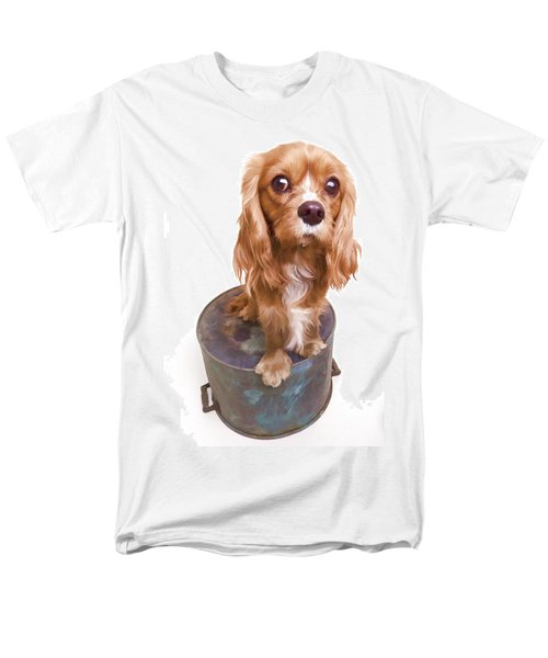 King Charles Spaniel Puppy T-Shirt by Edward Fielding