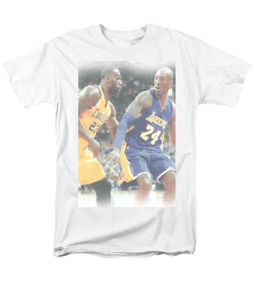 Kobe Bryant Lebron James 2 Men's T-Shirt  (Regular Fit) by Joe Hamilton
