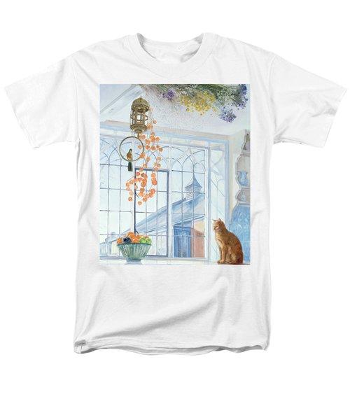 Lanterns Men's T-Shirt  (Regular Fit) by Timothy Easton