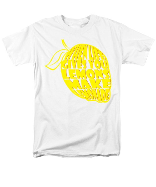 Lemonade Men's T-Shirt  (Regular Fit) by Priscilla Wolfe