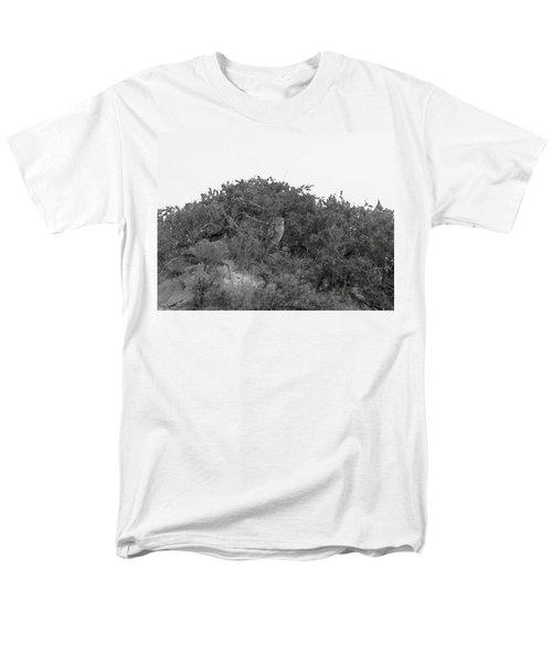 Lesser Horned Owl Men's T-Shirt  (Regular Fit) by Sandy Taylor