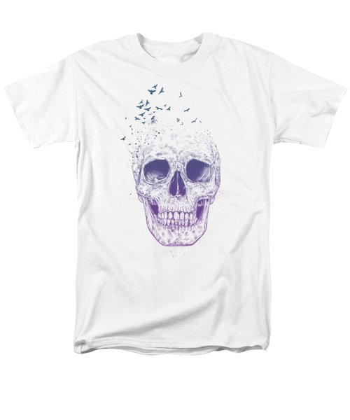 Let Them Fly Men's T-Shirt  (Regular Fit) by Balazs Solti