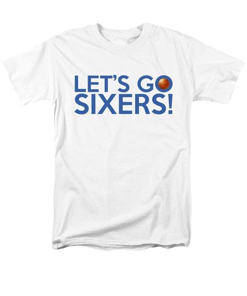 Let's Go Sixers Men's T-Shirt  (Regular Fit) by Florian Rodarte