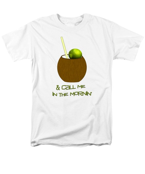 Lime In The Coconut Men's T-Shirt  (Regular Fit) by Methune Hively