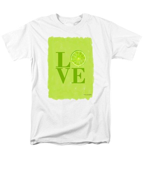Lime Men's T-Shirt  (Regular Fit) by Mark Rogan