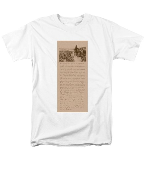 Lincoln and The Gettysburg Address T-Shirt by War Is Hell Store