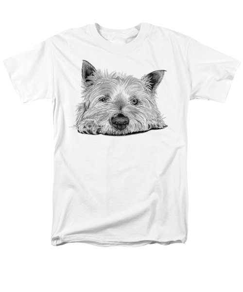 Little Dog Men's T-Shirt  (Regular Fit) by Sarah Batalka