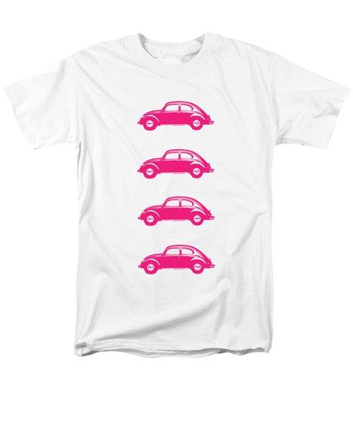 Little Pink Beetles Men's T-Shirt  (Regular Fit) by Edward Fielding