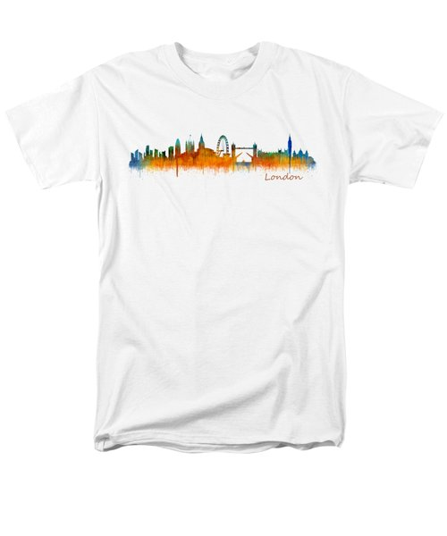 London City Skyline Hq V2 Men's T-Shirt  (Regular Fit) by HQ Photo