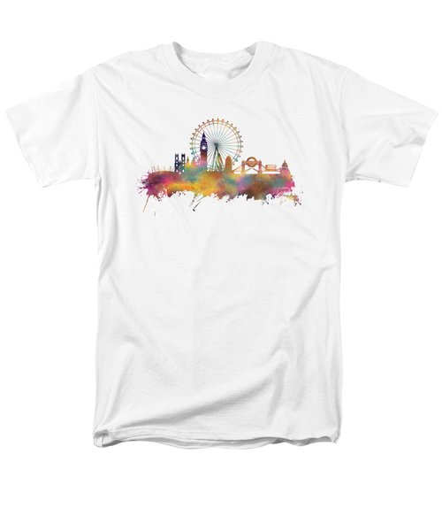 London Skyline Men's T-Shirt  (Regular Fit) by Justyna JBJart