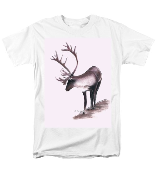 Lone Caribou Men's T-Shirt  (Regular Fit) by Jane M Lucas