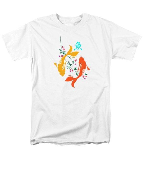 Lucky Koi Fish Men's T-Shirt  (Regular Fit) by Naviblue
