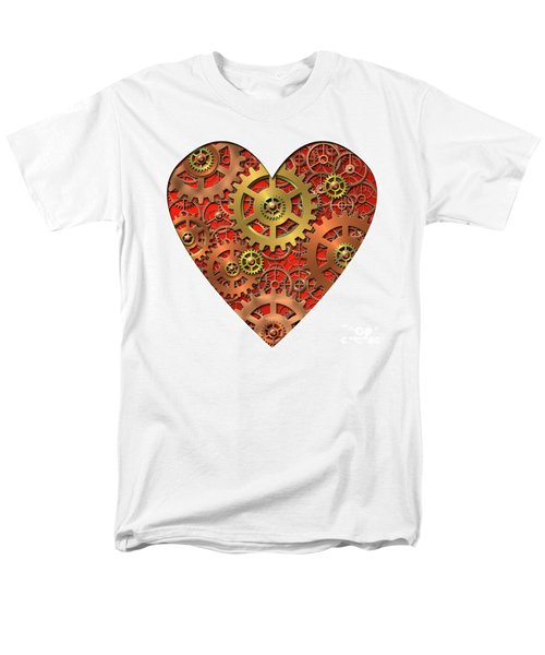 mechanical heart T-Shirt by Michal Boubin