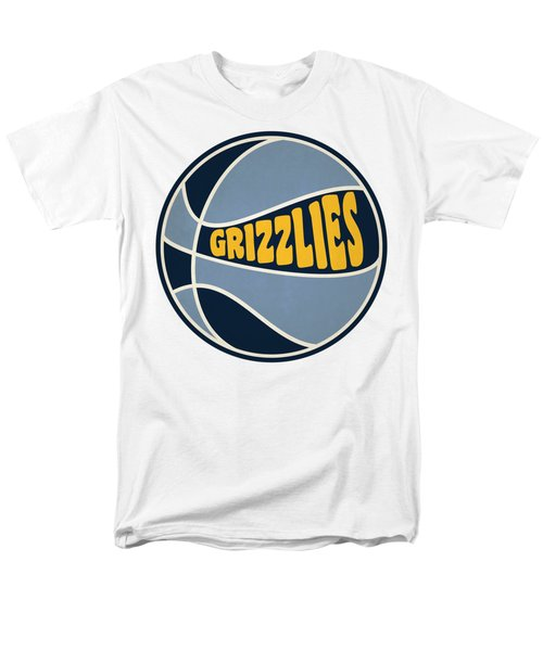 Memphis Grizzlies Retro Shirt Men's T-Shirt  (Regular Fit) by Joe Hamilton