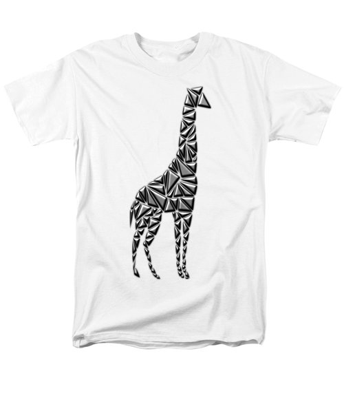 Metallic Giraffe Men's T-Shirt  (Regular Fit) by Chris Butler