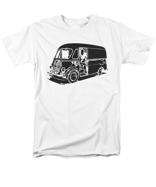 Metro Step Van Tee Men's T-Shirt  (Regular Fit) by Edward Fielding