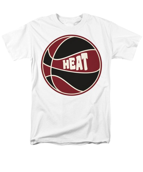 Miami Heat Retro Shirt Men's T-Shirt  (Regular Fit) by Joe Hamilton