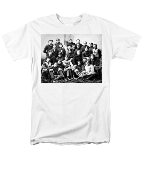 Michigan Wolverines Football Heritage  1895 Men's T-Shirt  (Regular Fit) by Daniel Hagerman