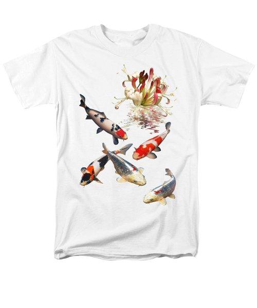 Midnight Reflections Men's T-Shirt  (Regular Fit) by Gill Billington